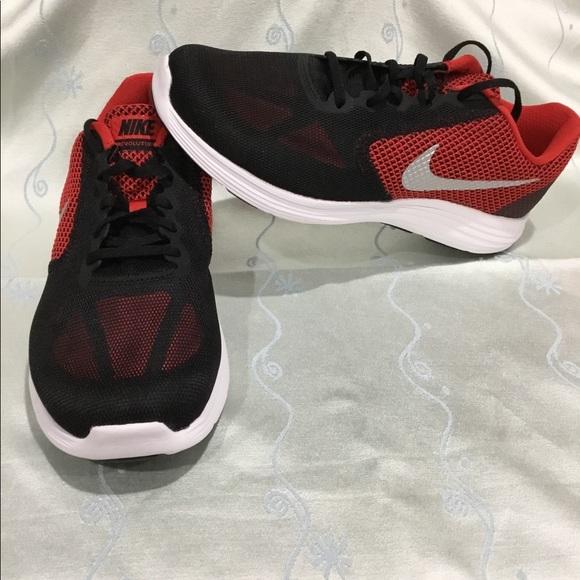 Nike Shoes | Revolution 3 Redblack